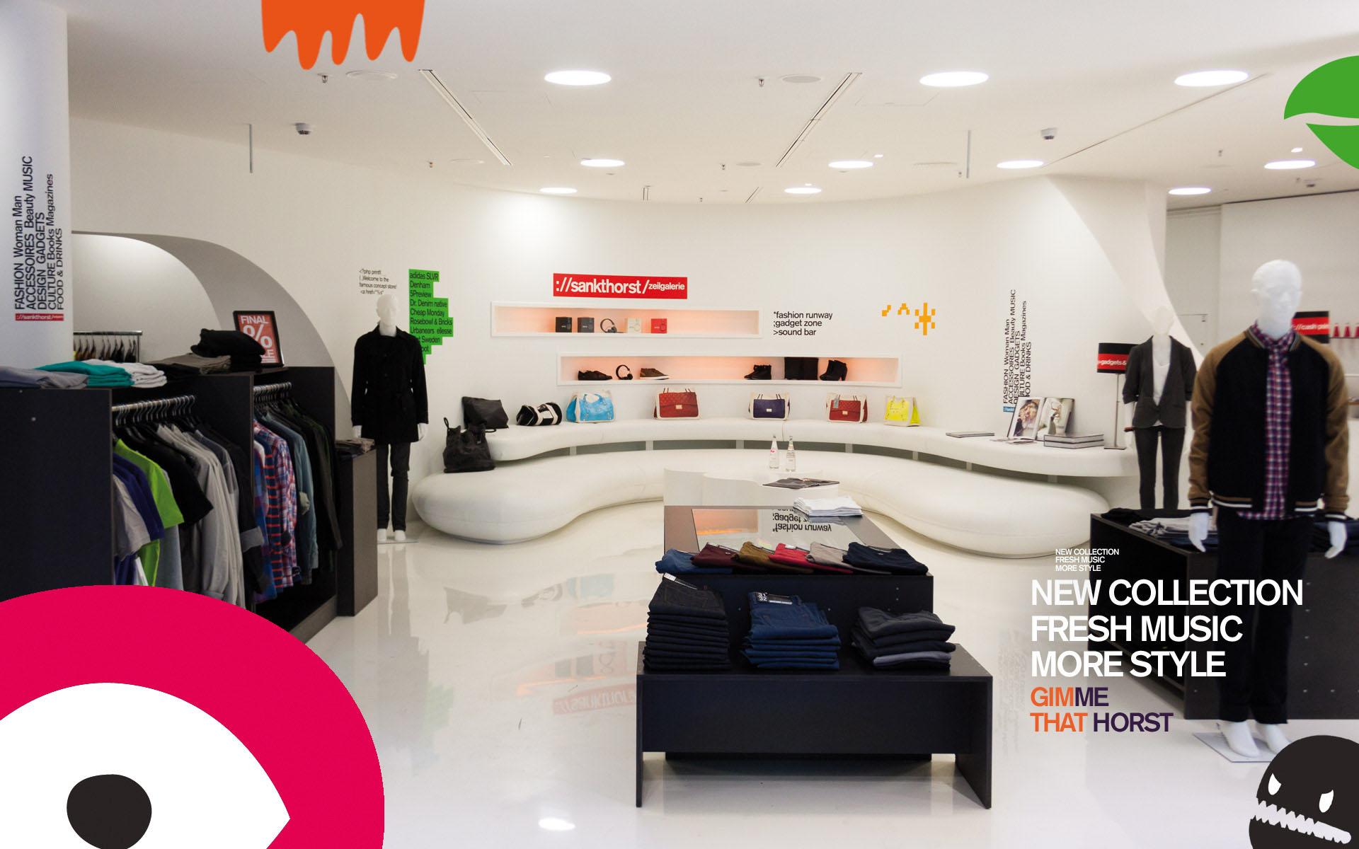 Sankthorst – New Store Design