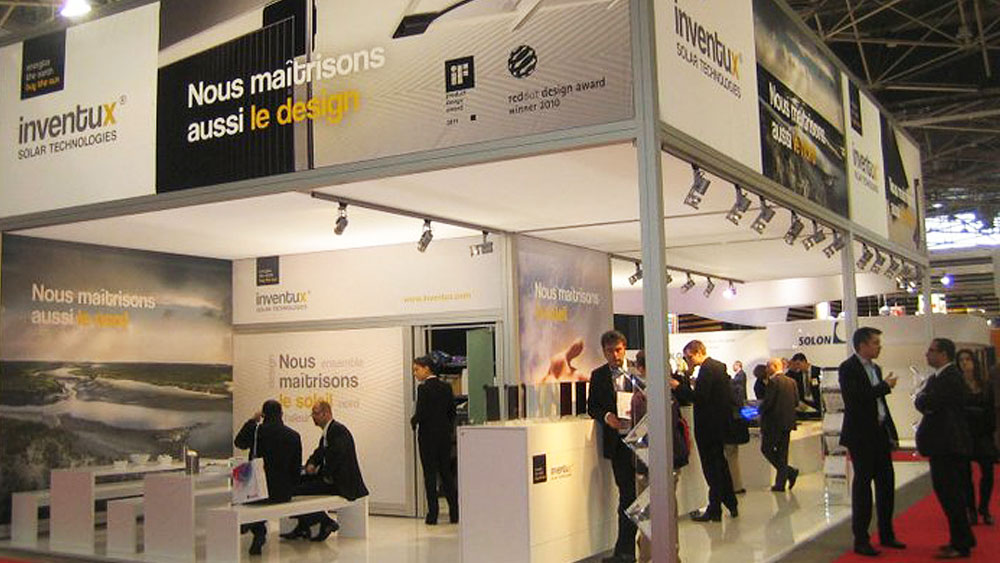 SMACK Inventux AG Messestand Lyon