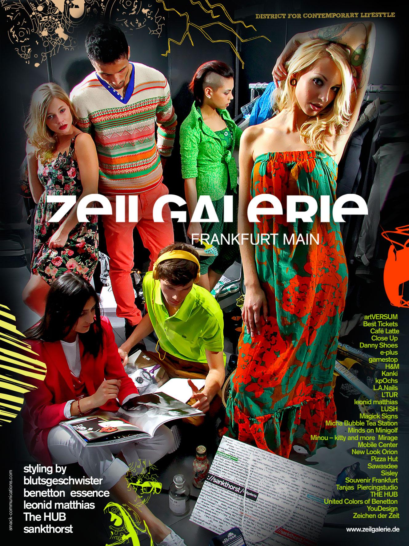 Zeilgalerie – Kampagne