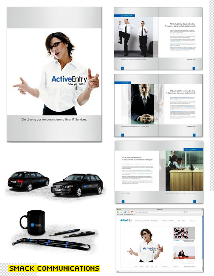 ActiveEntry – Umbrella Brand Concept