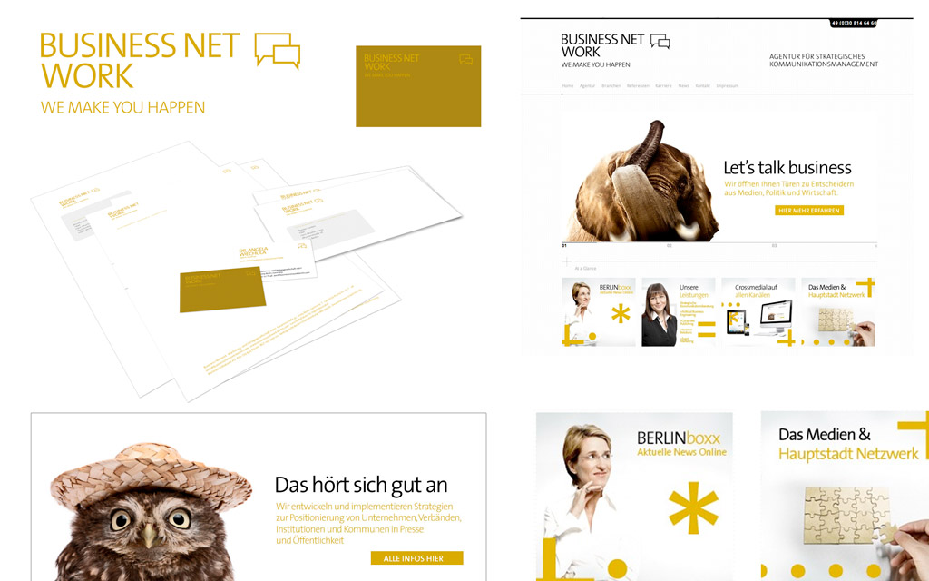 Business Network – Brand Concept