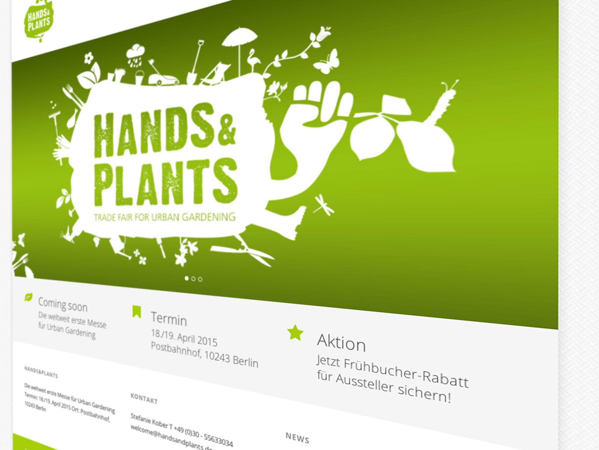Hands & Plants